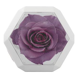 Vintage violette Rose elegante Chic-Blume schön Weiße Bluetooth Lautsprecher