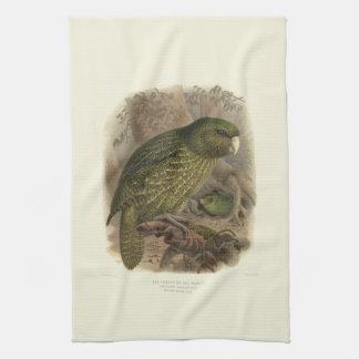 Vintage Vögel der Wissenschafts-NZ - Handtuch
