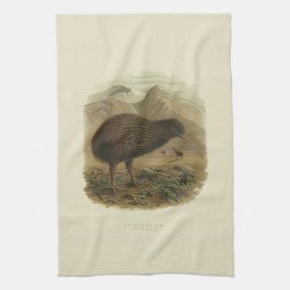 Vintage Vögel der Wissenschafts-NZ - Kiwi-Tee-Tuch Geschirrtuch