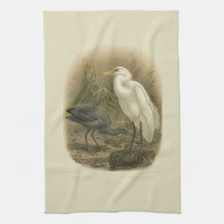 Vintage Vögel der Wissenschafts-NZ - NZ Geschirrtuch