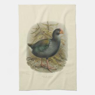 Vintage Vögel der Wissenschafts-NZ - Takahe Handtuch