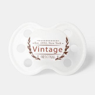 Vintage Vorlage Schnuller