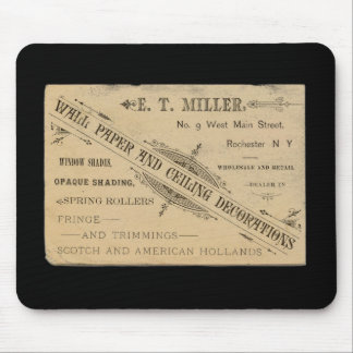 Vintage Wand-Papier-Anzeige Rochester N.Y. Mousepad