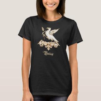 Vintage Wappenkunde-Adler-Wappen-Shirts T-Shirt