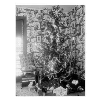 Vintage WeihnachtsErinnerungen Postkarte
