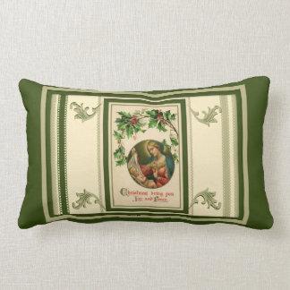 Vintage Weihnachtsfreude-Jungfrau Mary Lendenkissen