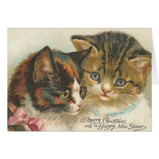 Vintage Weihnachtskarten Grußkarte