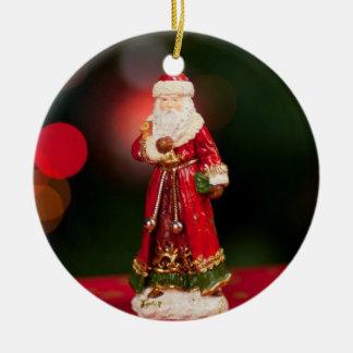 Vintage Weihnachtsmann-Figürchen-Weihnachtsverzier Ornament