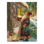 Vintage Weihnachtspostkarte Postkarten
