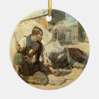Vintage Western-Cowboys, Hopalong durch NC Wyeth Keramik Ornament