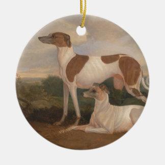 Vintage Windhunde Weihnachtsbaum Ornamente