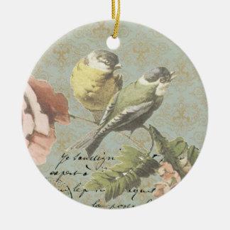 Vintage Zeit fliegt… Verzierung Weihnachtsornament