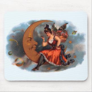 Vintage Zigarren-Aufkleber-Kunst, viktorianische Mousepads