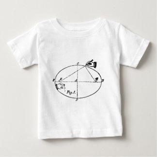 Vintage Zimmerei-Illustration - geometrisch Baby T-shirt