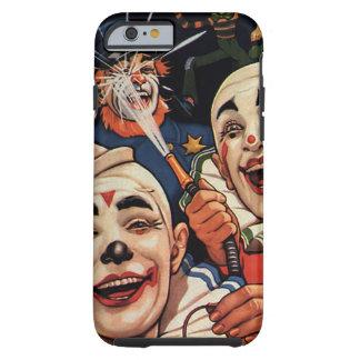 Vintage Zirkus-Clowns, albernes lustiges Tough iPhone 6 Hülle
