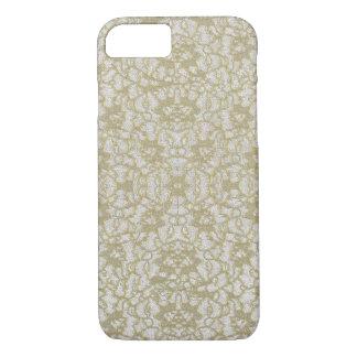 Vintaged beunruhigte Goldspitze iPhone 8/7 Hülle