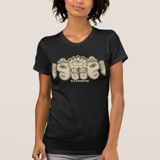 Vintaged Ganesh Beschwörungsformel-T-Shirt T-Shirt