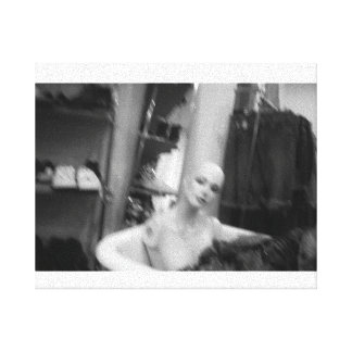 Vintagemannequin Leinwanddruck
