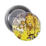 Vintager 1. Ausgaben-Druck Zauberers von Oz Runder Button 5,1 Cm