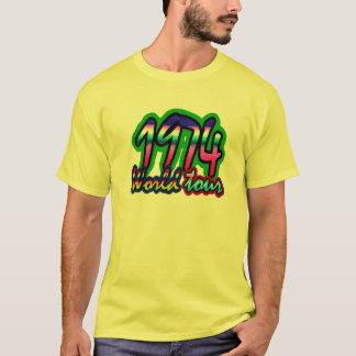 Vintager 74 Weltausflug T-Shirt
