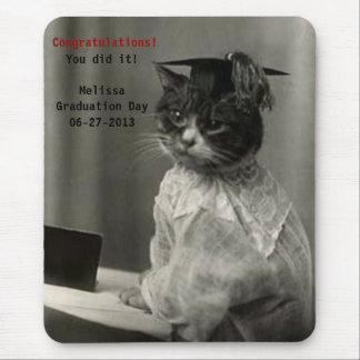 Vintager Abschluss Mousepad