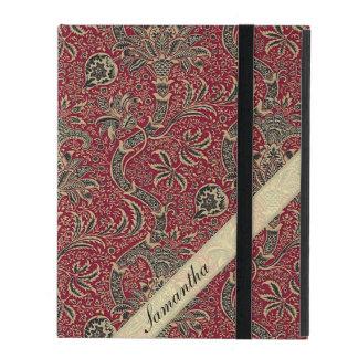 Vintager abstrakter Blumen-Entwurf Hülle Fürs iPad