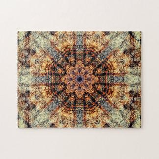 Vintager | abstrakter Kunst| Mandala Puzzle