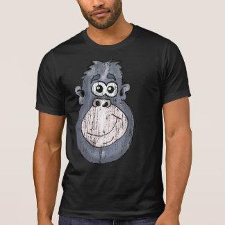 Vintager Affen-Kopf-T - Shirt