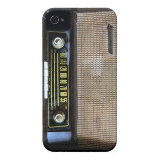 Vintager alter RadioBlackBerry-Kasten Case-Mate iPhone 4 Hüllen