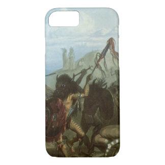 Vintager amerikanischer Ureinwohner, Bison-Tanz iPhone 8/7 Hülle