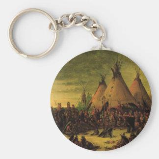 Vintager amerikanischer Ureinwohner, Schlüsselanhänger