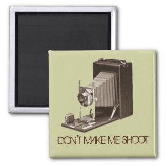 Vintager antiker Kamera-Kühlschrank-Magnet Quadratischer Magnet