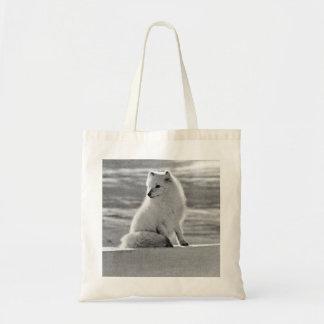 Vintager arktischer Fuchs 1970 USA Alaska Tragetasche
