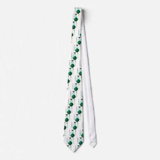 Vintager Artischocken-Spargel-botanischer Druck Krawatte