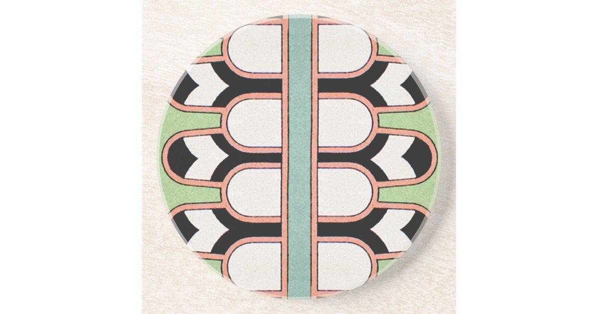 Vintager assyrian kunst deko geometrische muster m for Geometrische deko