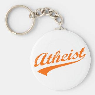 Vintager Atheist Schlüsselanhänger