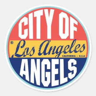 Vintager Aufkleber Los Angeles
