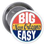 Vintager Aufkleber New Orleans Anstecknadelbutton
