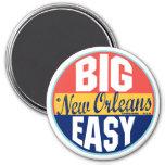 Vintager Aufkleber New Orleans Runder Magnet 7,6 Cm
