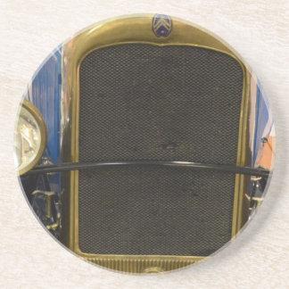 Vintager Auto-Grill Sandstein Untersetzer