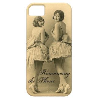 Vintager Ballerinen iPhone kaum dort Fall lustig iPhone 5 Schutzhülle