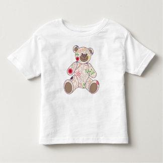 Vintager Bär bunt Kleinkind T-shirt