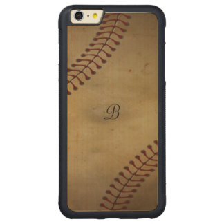 Vintager Baseball Carved® Maple iPhone 6 Plus Bumper Hülle