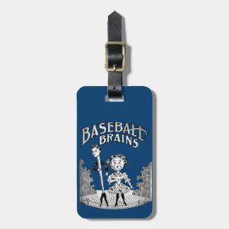 Vintager Baseball-Entwurf Gepäckanhänger
