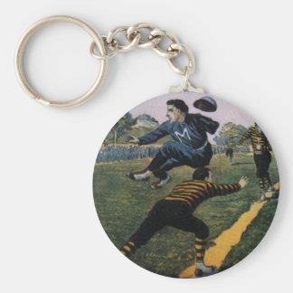 Vintager Baseball, spitzen oberstes wöchentliche Schlüsselanhänger
