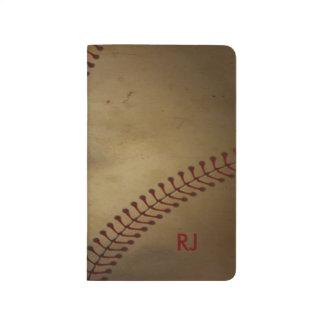 Vintager Baseball Taschennotizbuch