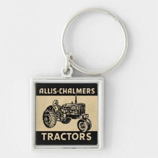 Vintager Bauernhof-Traktor Schlüsselanhänger