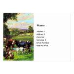 Vintager Bauernhof Visitenkarten Vorlagen