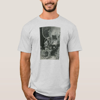Vintager Biologen-Taucher des 19. Jahrhunderts T-Shirt