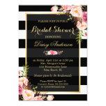 Vintager Blumendekor für Wedding Brautparty 12,7 X 17,8 Cm Einladungskarte